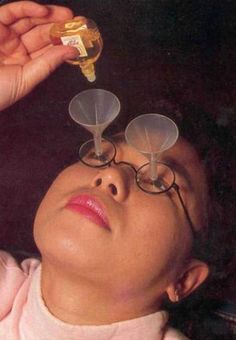 this is way useful ~ the eyedropper funnel glasses thingy