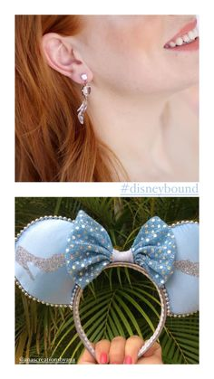 Disney cinderella earrings and disney princess inspiration Cinderella Disney, Disney Princess, Disney Earrings, Disney Bound, Disney Movies, Party Themes, Whimsical, Chic, Handmade