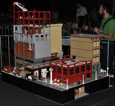 DSC_0056 | New York 1937 part III. | Igorus | Flickr Amazing Lego Creations, Building Drawing, Lego Worlds, Lego House, Lego Moc, Lego Building, Lego Ideas, Lego City, Legos
