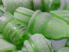 Don't you just love bottle green sea glass! We found these cool treasures on the beaches of Rincon, Puerto Rico.
