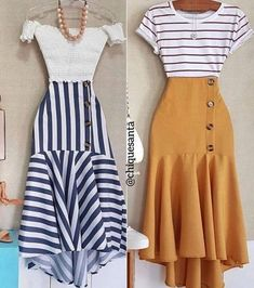 Fresh spring outfit ideas – Just Trendy Girls Mode Outfits, Skirt Outfits, Dress Skirt, Classy Outfits, Chic Outfits, Spring Outfits, Summer Outfit, Beauty And Fashion, Womens Fashion