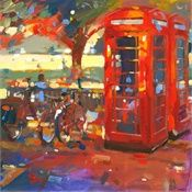 John Walsom, British painter of architecture, urban landscapes, interiors and streetscapes.