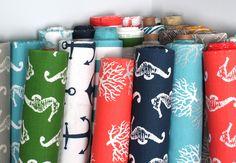 gift card, anchor fabric, nautical fabric, premier print, beach fabric, beach color fabrics, 100 gift, fabric sewing, nautical prints fabrics