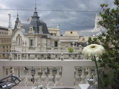 Vistas de las azoteas de la calle Montalbán