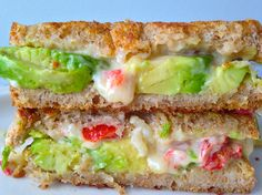 Your grilled cheese NEEDS avocado. Get the recipe from Delish.   - Delish.com