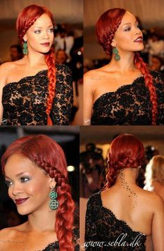 59 ideas for hair red rihanna hairstyles Kids Braided Hairstyles, Trendy Hairstyles, American Hairstyles, Medium Hair Styles, Curly Hair Styles, Natural Hair Styles, Rihanna Red Hair, Rihanna Style, Rihanna Hairstyles