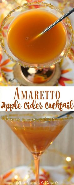 Amaretto Apple Cider