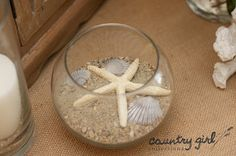 Star Fish and Beach Wedding Décor by Country Girl Collections