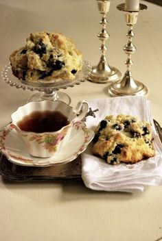 The Grower's Daughter: Baking Day ~ Blueberry Scones and Triple Chocolate Cookies