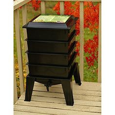 Worm Factory 360 WF360B Worm Composter, Black Read more  at the image link.