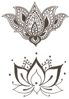 lotus blossom. I'm thinking the top one for between my boobs