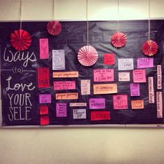 February bulletin board. Res life.                                                                                                                                                                                 More