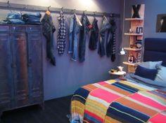 Bedroom, for a cool boys bedroom! - Bedroom, for a stupid . Bedroom, for a c Cool Bedrooms For Boys, Kids Bedroom, Bedroom Decor, Wall Decor, Teen Boy Bedding, Teenage Room, Kids Corner, Modern Kitchen Design, New Room