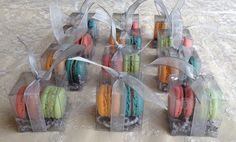 Wedding Favors by La Reine des Macarons