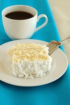 Skinny Points Recipes  » Coconut Cake Recipe