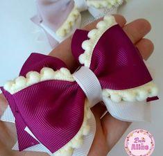 Diy Hair Bows, Ribbon Hair, Ribbon Bows, Bow Making Tutorials, Beading Tutorials, Fabric Bows, Fabric Flowers, Baby Bows, Baby Headbands
