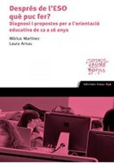 Com es pot desenvolupar un model d'orientació que inspiri qualsevol centre educatiu d'ensenyament secundari? Quina és la situació actual de l'orientació educativa a l'etapa secundària obligatòria? Quins són els principals actors en el procés d'orientar l'alumnat en aquesta darrera fase obligatòria del sistema educatiu?