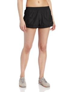 Calvin Klein Performance Women's Rouched Running Short, Black, X-Large Calvin Klein Performance. $28.00