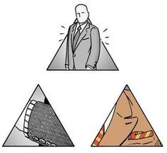Now that your mom isn't buying your clothes anymore, start following the Style Pyramid .