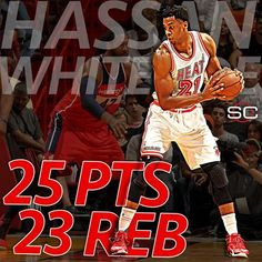 Hassan Whiteside puts up his 1st 20-rebound game of the season in the Miami Heat's 114-94 win over the Washington Wizards. 2/20/2016