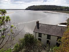 Dylan Thomas boathouse, Laugharne, Carmarthenshire April 12 by discover carmarthenshire, via Flickr