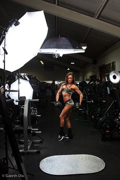Rachel Turner Shoot Lighting Set Up
