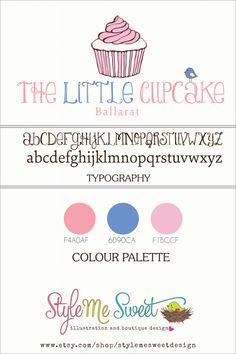 Custom Logo Design For The Little Cupcake