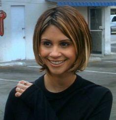 Tamara Mello....  Cute short hair