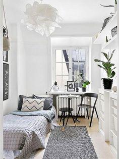 30+ Awesome Minimalist Dorm Room Decor Inspirations on A Budget