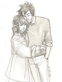 By Burdge bug. (They remind me of Tonks and Remus!) Raylin and her unnamed companion - I love Burdge! Cartoon Drawings, Drawing Sketches, Art Drawings, Sketching, Hugging Drawing, Burdge Bug, Cute Couples Cuddling, Couple Cuddling, Couple Hugging
