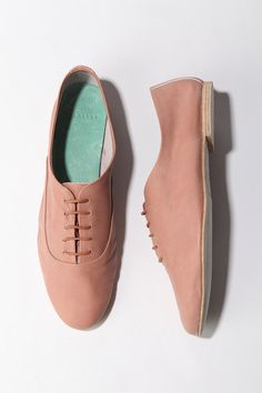 oxford shoe - love the color