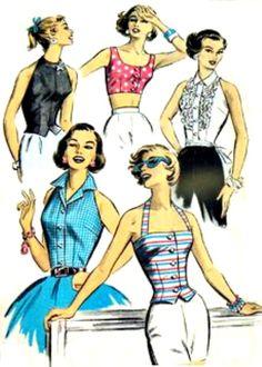 1950s shirt sewing patterns