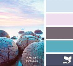 grey, blues, violet from design seeds