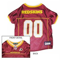 3fe2d1f22 Get your dog ready for the game with this officially licensed NFL dog jersey.  This