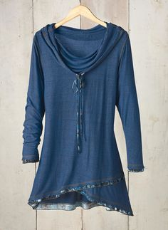 Libby Cowl-Neck Tunic