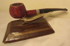 Vintage Dr. Grabow Royal Duke Rustic Half Bent Apple Estate Briar Tobacco Pipe