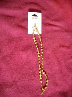 """Blue Moon Beads 14"""" Metal Beads #5 Gold New with Tag Craft Beads ~~ for sale at Wenzel Thrifty Nickel eCRATER store"""