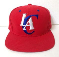 adidas LOS ANGELES CLIPPERS SNAPBACK HAT red white blue LAC LA trefoil  men women a67de396ea22