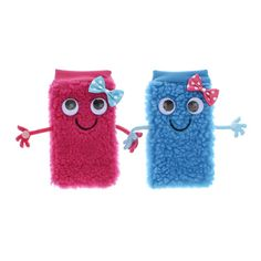 2 Pack Best Friends Quirky Phone Socks