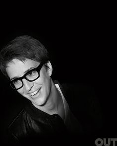 Rachel Maddow - Brilliant, witty and sexy.