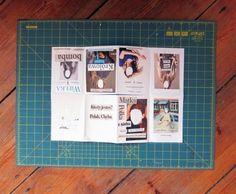 Rookie » How to Make a Zine Book Crafts, Paper Crafts, Pochette Cd, Homemade Books, Art Zine, Cool Journals, Art Journals, Layout, Book Binding