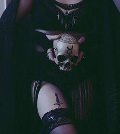 Dark art for our inner demons: Photo Gothic Aesthetic, Witch Aesthetic, Aesthetic Black, Dark Fantasy Art, Dark Art, Wiccan, Witchcraft, Magick, Dark Witch