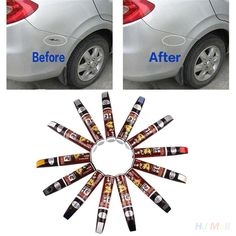 Voiture Auto Véhicule Scratch Réparer Peinture De Réparation Remover Tactile-Up Peinture Fix Stylo Réparation pour Toyota