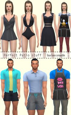 Downloads sims 4:Conversion Base Game compatible Perfect Patio stuff by JennisimsDownload