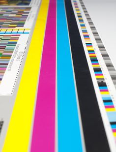 Litho print color bar