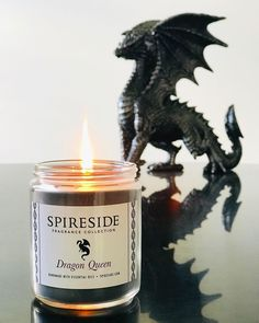 Scented Candles, Candle Jars, Red Candles, Dragons, Special Massage, Fire Dragon, Vides, My Demons, Candle Making