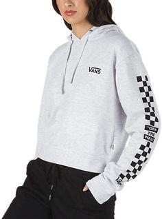 bc2227acee Vans Patchwork Checker Hoodie Women s Sweatshirt
