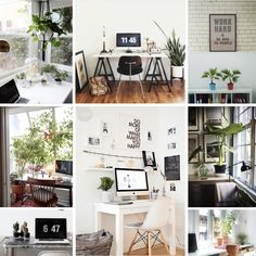 The Sill | Plants in the Home: Home Office
