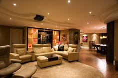 Just Basements - Family Room 3 Home Builders Association, Basement Renovations, Basements, Design Awards, Ottawa, Building Design, Family Room, Furniture, Home Decor