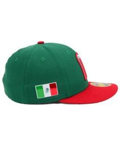 New Era Mexico 2017 World Basball Classic 59FIFTY Cap - Green 7 5 8 Gorra 092881f8995